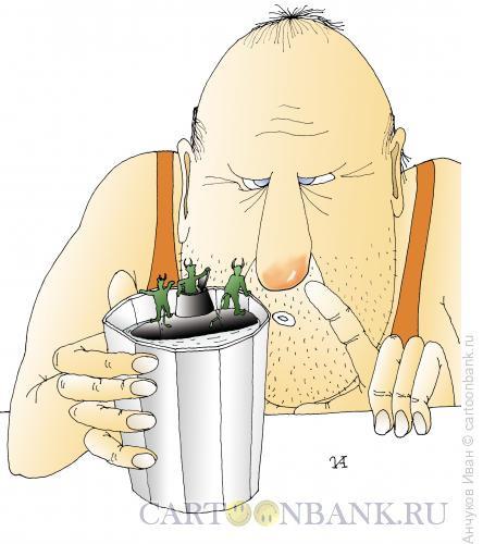 Карикатура: Чертики, Анчуков Иван