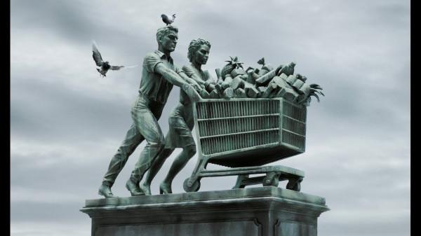 """Мем: Статуя Мухиной """"Рабочий и колхозница"""" уже не актуальна, Criptor"""