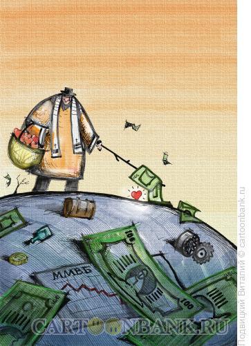 Карикатура: В поисках сокровища, Подвицкий Виталий