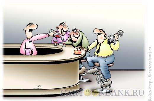 Карикатура: За здоровый образ жизни, Кийко Игорь
