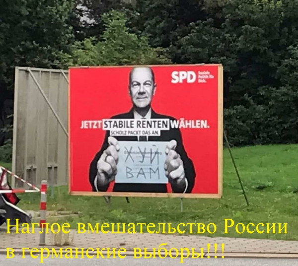 Мем: ФРГ-выборы, все кандидаты..., Пёсикот