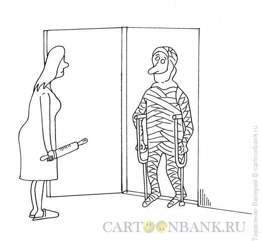 Карикатура: Возвращение, Тарасенко Валерий