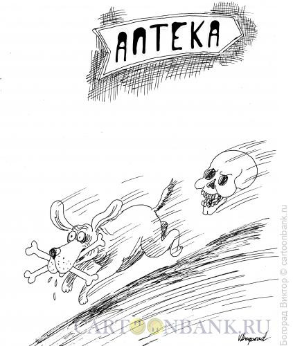 Карикатура: Похищение из аптеки, Богорад Виктор