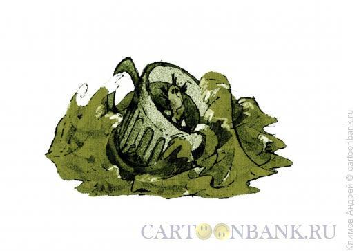 Карикатура: Шторм, Климов Андрей