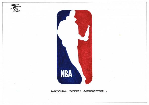 Карикатура: NATIONAL BOOZY ASSOCIATION ., Юрий Косарев