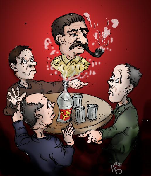 Карикатура: Собутыльники, backdanov