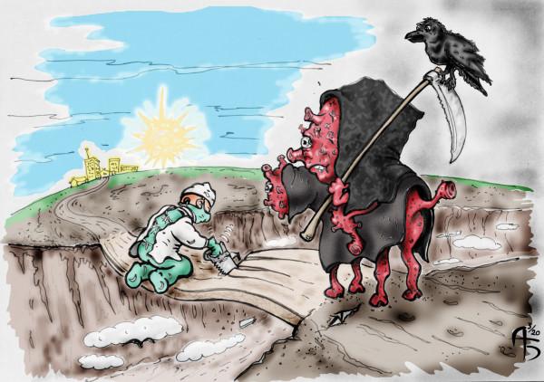 Карикатура: Хирургическое вмешательство, backdanov