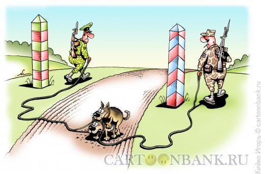 Карикатура: Любовь без границ, Кийко Игорь