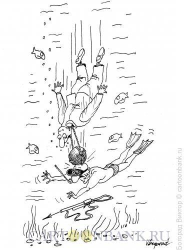 Карикатура: Жертва самоубийцы, Богорад Виктор