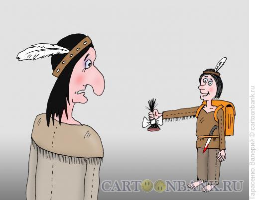 Карикатура: Первый класс, Тарасенко Валерий