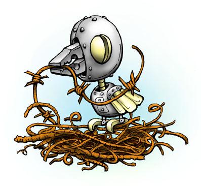 Карикатура: Ржаворонок, Глеб Андросов