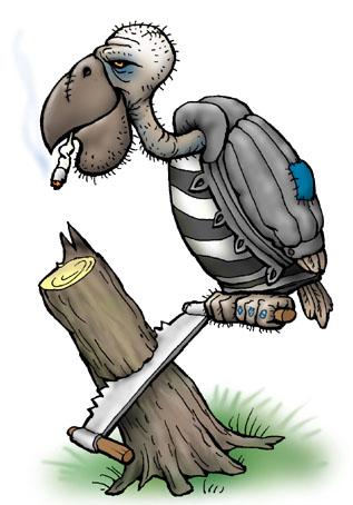 Карикатура: Сип Бритоголовый, Глеб Андросов