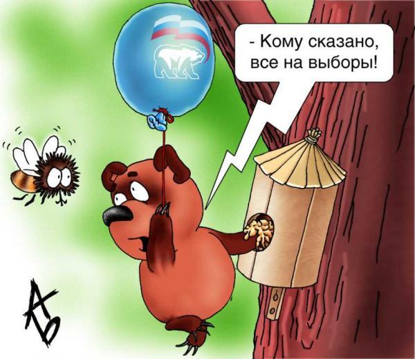 Карикатура: Не все на выборы!, Андрей Бузов