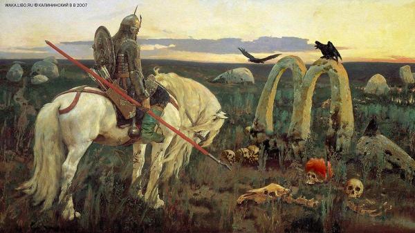 Карикатура: ВИТЯЗЬ И ФАСТФУД, Kalininskiy (Валентин Калининский)