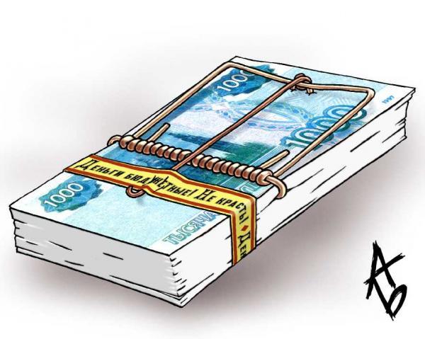 Карикатура: Тщетная предосторожность, Андрей Бузов