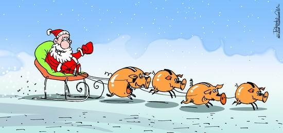 Карикатура, Виталий Подвицкий