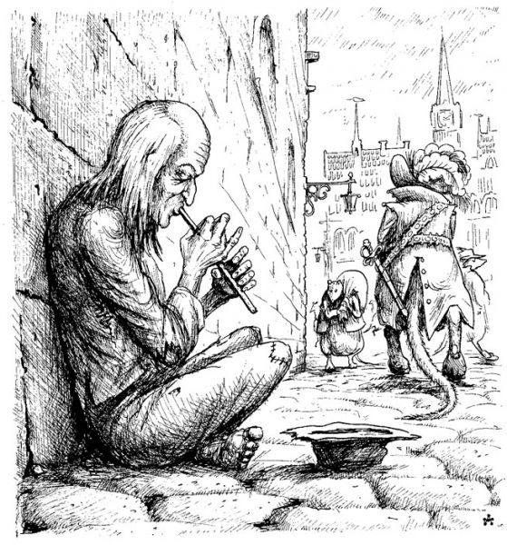 Карикатура: Год крысы, Глеб Андросов