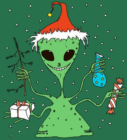 поздравление с новым годом инопланетяне конце концов она