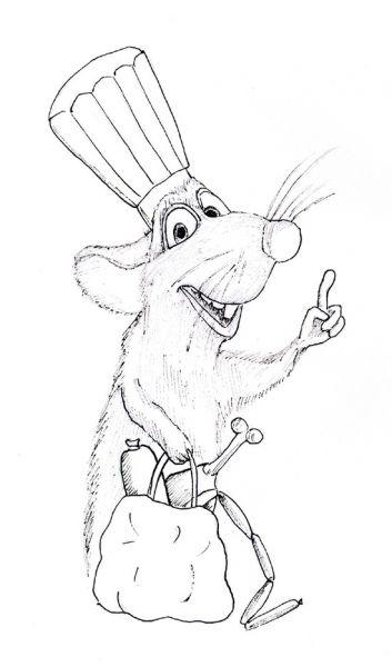 Карикатура: Знай меру!, Рябов Евгений