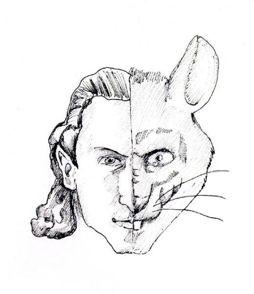 Карикатура: Крыся, Рябов Евгений