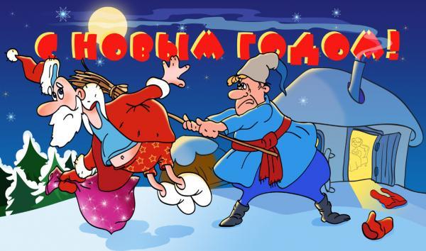 Карикатура: NotHappyNY, Владимир Макаренко