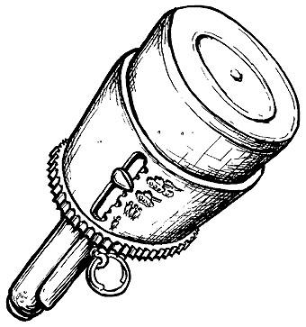 Карикатура: Граната нового образца, Глеб Андросов