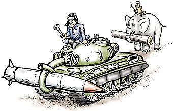 Карикатура: В мире животных, Глеб Андросов