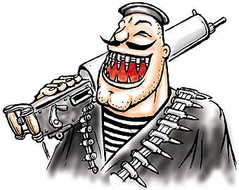Карикатура: Улыбочка, Глеб Андросов