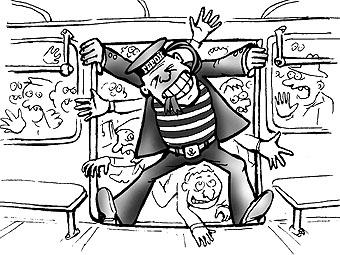 Карикатура: Сила привычки, Глеб Андросов