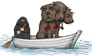 Карикатура: Пушок. Об этом не написали., Глеб Андросов