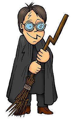 Карикатура: Гарри Поттер, Глеб Андросов