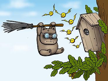 Карикатура: Винни Пуххер, Глеб Андросов