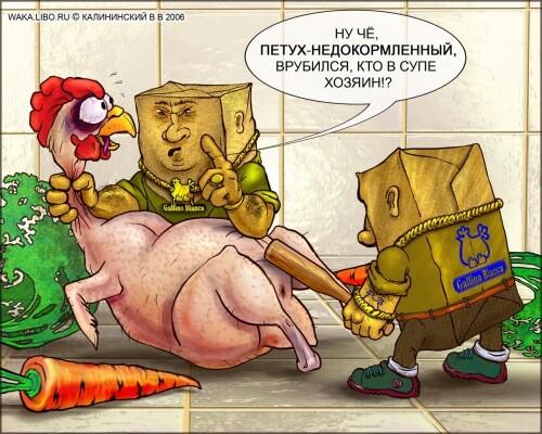 Карикатура: Галина Бланка Буль Буль, Kalininskiy (Калининский) - wallpapers 1024 тут -