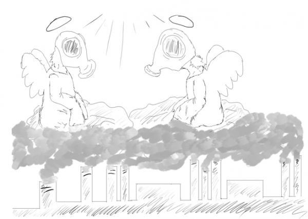 Карикатура: Gorod, Natasha