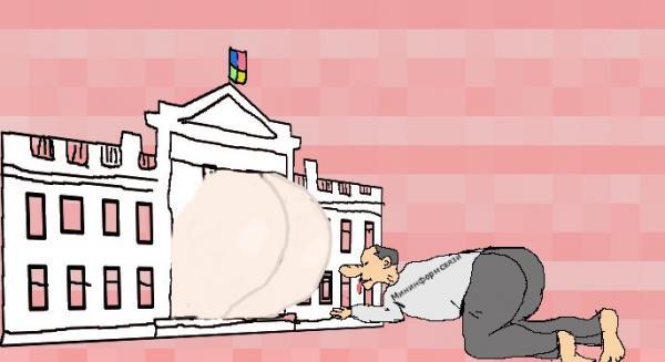 Карикатура: Мининформсвязи на страже