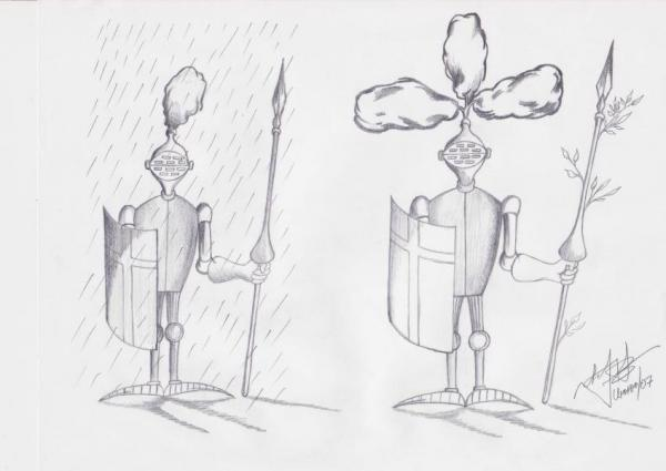 Карикатура: После дождя, Игорь Иванченко