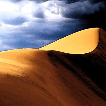 Карикатура: Пустыня, Эдик