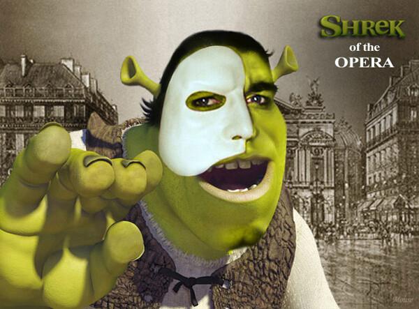 Карикатура: Shrek of the Opera, Mouse
