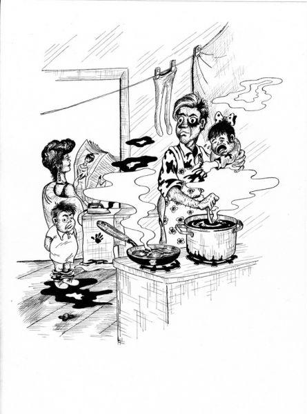 Карикатура: Мелодия любви, Владимир