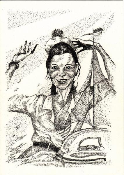 Карикатура: Мечта об Алых парусах, Владимир