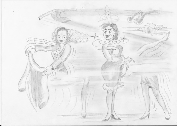 Карикатура: Быстрее бегаешь, меньше вопросов!, Владимир