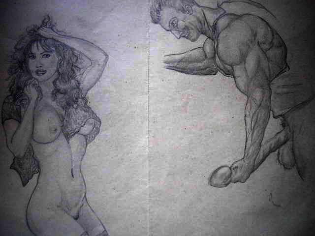 """Карикатура: Виагра?!, \""""мазила\"""""""