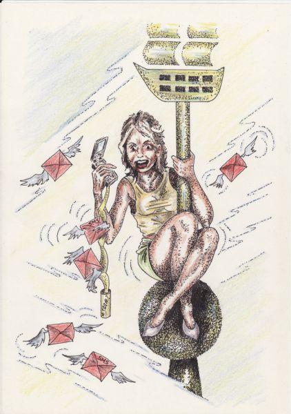 Карикатура: Продолжение.Megafon-Country's opponent, Владимир
