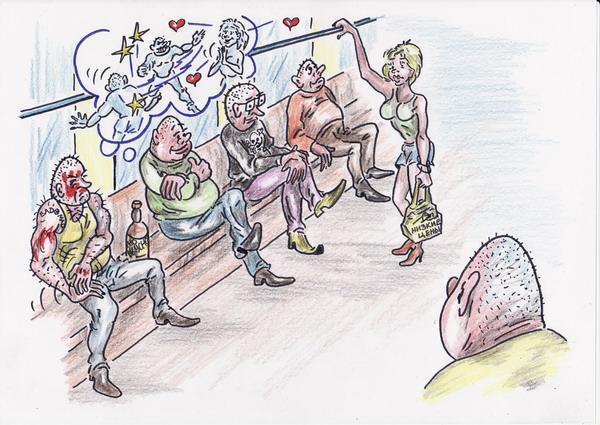 Карикатура: Крутизна, Владимир