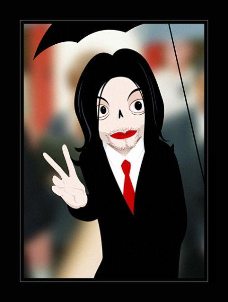 Карикатура: Майкл Джексон, Snakes