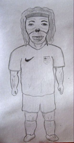 Карикатура: Роналдинио, Вадим