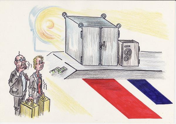 Карикатура: Выборный рейтинг, Владимир