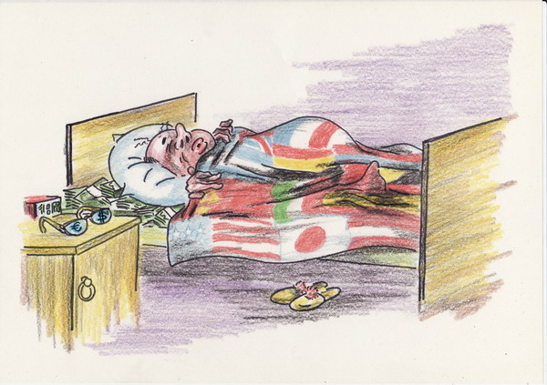 Карикатура: Патриот, Владимир