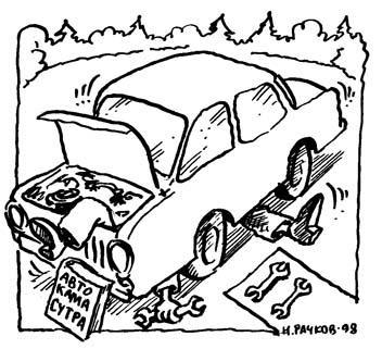 Карикатура: Автокамасутра, Николай Рачков