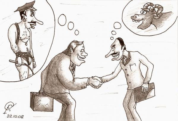 Карикатура: Политика, Серебряков Роман
